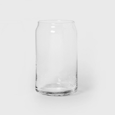 16oz Glass Beer Can Glass - Threshold™
