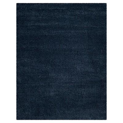 Navy Solid Loomed Area Rug - (8'x10')- Safavieh®