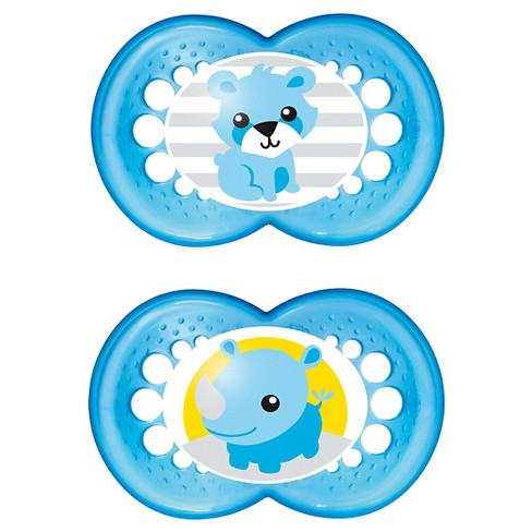 MAM Original Orthodontic Pacifier, 16+ Months, 2ct (Colors May Vary) - image 1 of 3