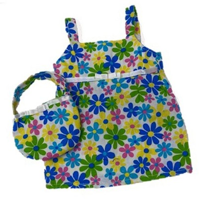 Doll Clothes Superstore Colorful Sundress With Purse fits Baby Doll