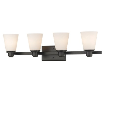 Vanity Wall Lights with Matte Opal Glass (Set of 4) - Z-Lite - image 1 of 1