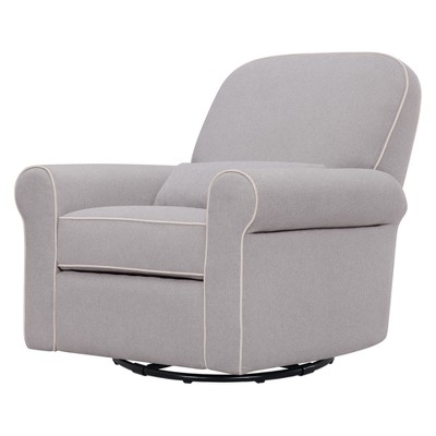 DaVinci Ruby Recliner and Glider - Gray/Cream