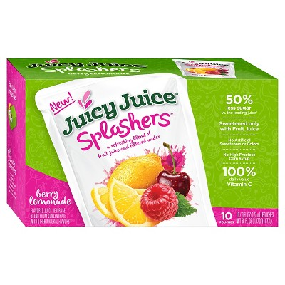Juice Boxes: Juicy Juice Splashers