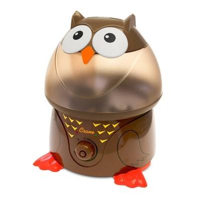 Crane Adorable Owl Ultrasonic Cool Mist Humidifier - 1gal