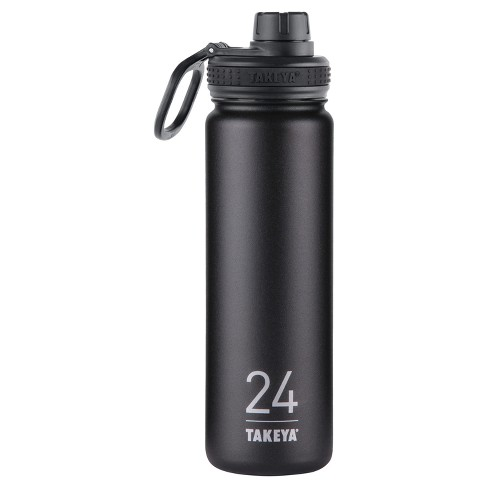 Takeya Originals 24oz Insulated Stainless Steel Water Bottle with Spout Lid - image 1 of 4