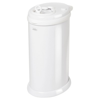 Ubbi Steel Diaper Pail - White