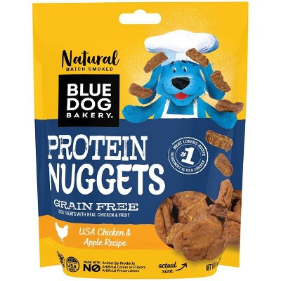 Blue Dog Bakery Protein Nuggets Chicken and Apple Dog Treats - 6oz