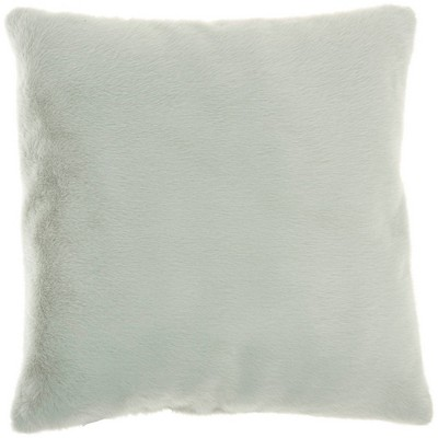 """20""""x20"""" Oversize 2 Sided Faux Fur Square Throw Pillow - Mina Victory"""