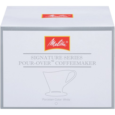 Melitta 1 Cup Porcelain Pour Over Cone Coffeemaker Target