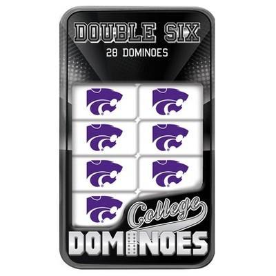 NCAA Kansas State Wildcats Dominoes