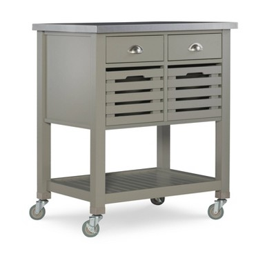 Robbin Kitchen Cart - Linon