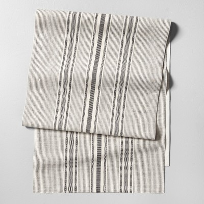 Table Runner Stripe Railroad Gray - Hearth & Hand™ with Magnolia