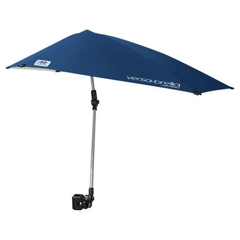 Sport Brella Versa All Position Umbrella With Universal Clamp Midnight Blue