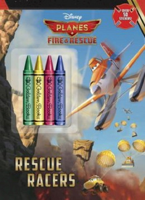 Rescue Racers! (Disney Planes: Fire & Rescue)(Paperback) by Cynthia Hands - image 1 of 1