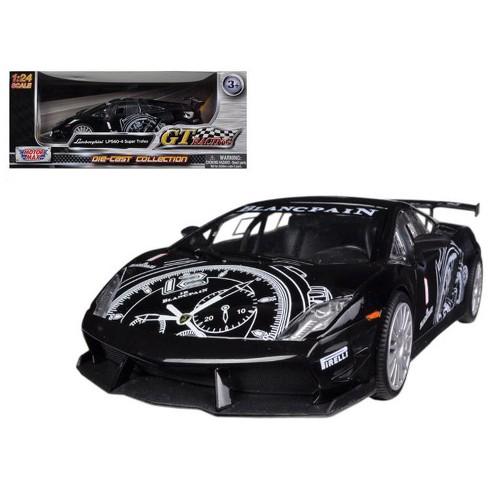 Lamborghini Gallardo Lp560 4 Black Super Trofeo Gt Racing 1 24