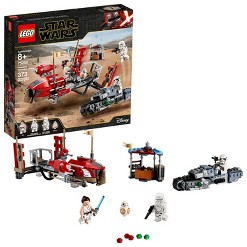LEGO Star Wars: The Rise of Skywalker Pasaana Speeder Chase Hovering Transport Speeder Building Kit with Action Figures 75250