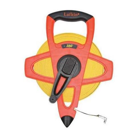 """CRESCENT LUFKIN FE300D 300 ft. Tape Measure, 1/2"""" Blade, Orange/Black - image 1 of 1"""