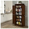 Americana Kitchen Pantry - Cherry - Home Styles - image 3 of 3