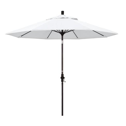 9' Aluminum Collar Tilt Patio Umbrella - California Umbrella - image 1 of 4