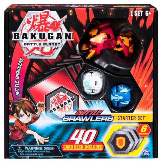 Bakugan Battle Brawlers Starter Set with Bakugan Transforming Creatures Pyrus Hydorous image number null