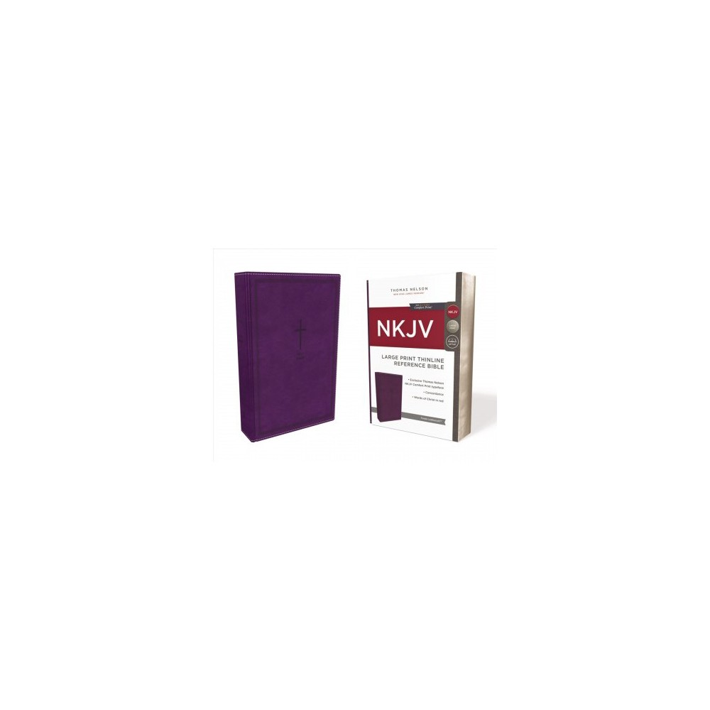 Holy Bible : New King James Version, Purple, Leathersoft, Thinline Reference, Red Letter Edition,