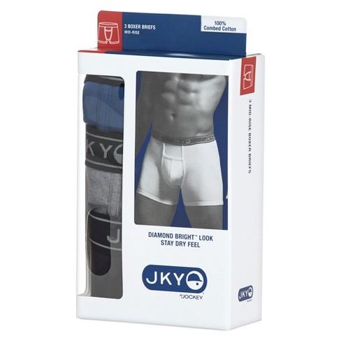 2d5d2e95e43f JKY™ By Jockey® Men's 3pk Cotton Boxer Briefs : Target