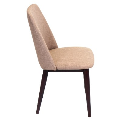 Gentil Tintori Mid Century Modern Dining Chairs Wood/Espresso (Set Of 2)    LumiSource : Target