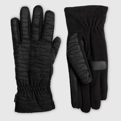 Isotoner Women's Sleek Heat Gloves - Black