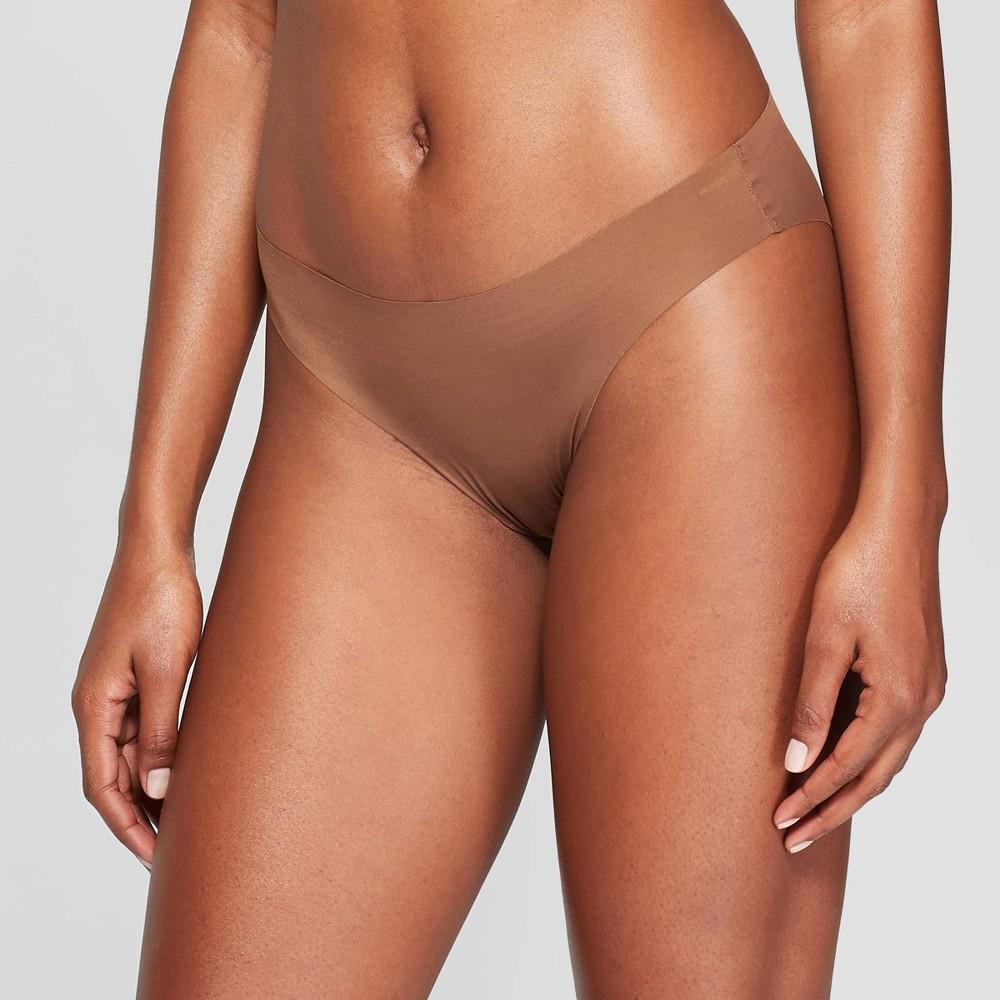 Women's Laser Cut Cheeky Bikini - Auden Cocoa (Brown) S