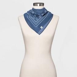 Women's Polka Dot Bandana - Universal Thread™ Blue
