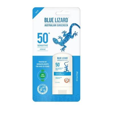 Blue Lizard Sensitive Sunscreen Stick - SPF 50 - 0.5oz