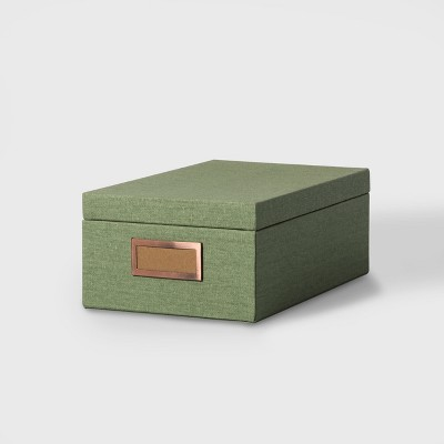 Storage Box Medium - Fun Sage - Hearth & Hand™ with Magnolia