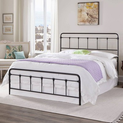 eLuxury Colton Steel Metal Bed Frame
