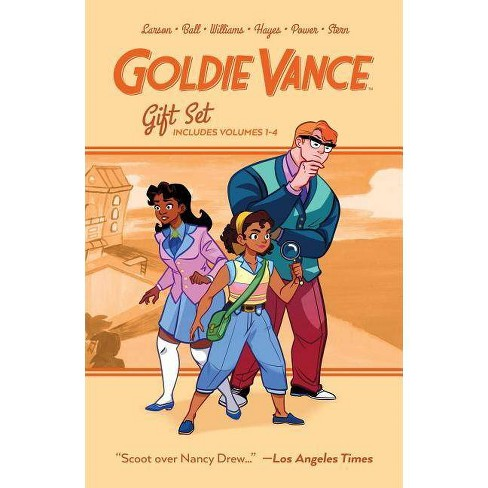 Goldie Vance Graphic Novel Gift Set - by  Hope Larson & Jackie Ball (Paperback) - image 1 of 1