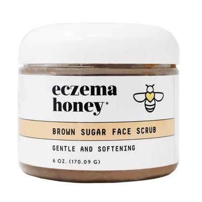Eczema Honey Brown Sugar Face Scrub - 6oz