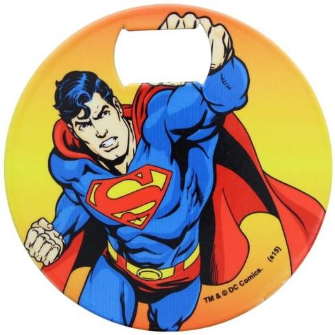 Adventure Trading Inc DC Comics Superman Iconic Coaster Bottle Opener - image 1 of 1