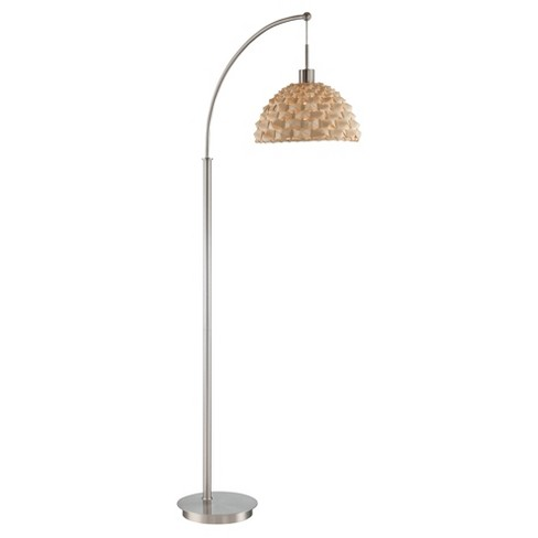 Linterna Floor Lamp Polished Steel (Includes Energy Efficient Light Bulb) - Lite Source - image 1 of 2