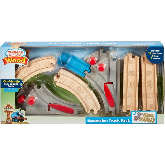 Fisher-Price Thomas & Friends Wood Expansion Track Pack image number null