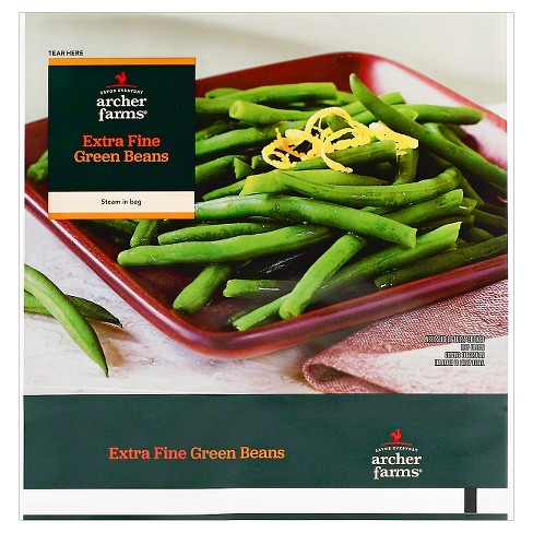 Pleasant Steam In Bag Extra Fine Frozen Green Beans 12Oz Archer Farms Evergreenethics Interior Chair Design Evergreenethicsorg