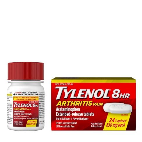 Tylenol 8 Hour Arthritis Pain Reliever Extended-Release Caplets - Acetaminophen - image 1 of 4