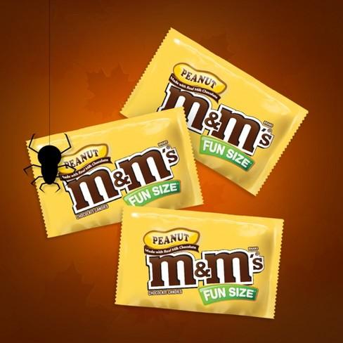 M M s Peanut Fun Size Chocolate Candies - 10.57oz   Target 8c29db5a63f64