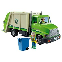 Playmobil Green Recycle Truck
