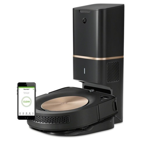 iRobot Roomba s9+ (9550) Wi-Fi Connected Robot Vacuum with Automatic Dirt Disposal - image 1 of 4