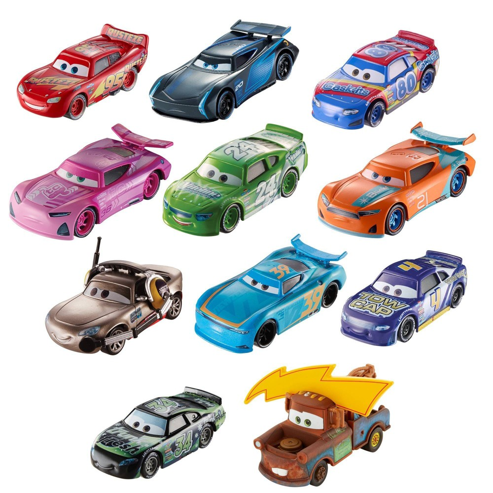 Disney Die-Cast 11pk - Individual Cars May Vary, Multicolored