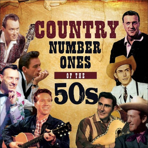 Various - Country No 1s Of The 50s (CD) - image 1 of 1
