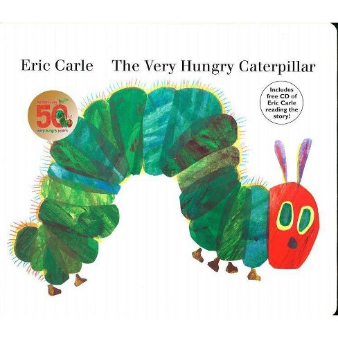 The Very Hungry Caterpillar by Eric Carle (Board Book with CD) by Eric Carle - image 1 of 2