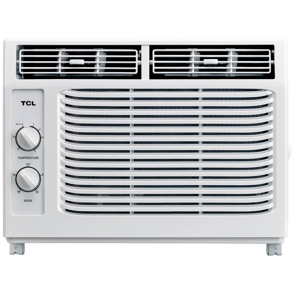 TCL 5000BTU Window AC, air conditioners TCL 5000BTU Window AC, air conditioners Color: White. Gender: unisex.