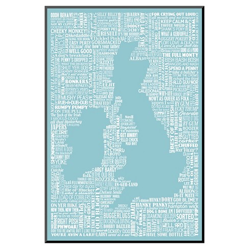 Art.com - The Queen's English by Janie Secker - Mounted Print - image 1 of 1