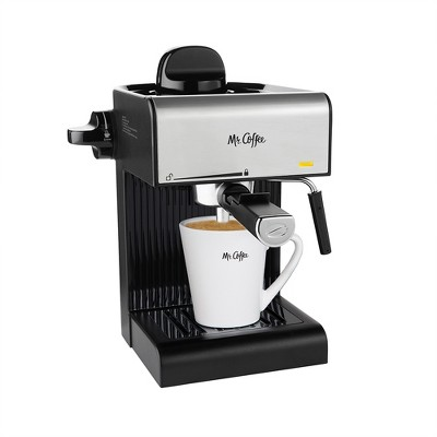 Mr. Coffee Steam Espresso and Cappuccino Maker - BVMC-ECM17