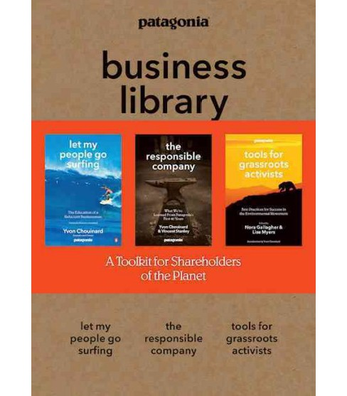 Patagonia business library : Let my people go surfing / the responsible company / Tools for grassroots - image 1 of 1